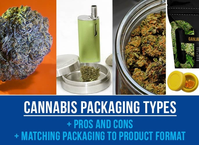 Cannabis Packaging Types & How to Match Packaging to Your Product