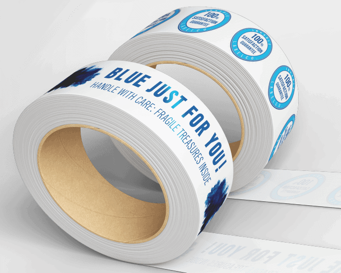 SUPER SAVER: Dramatically Cut Cost With Printed Packing Tape!